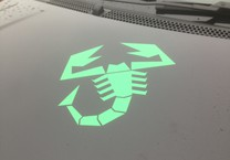 Abarth Decal for Fiat 500 Bonnet