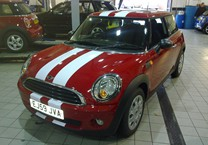 Full White Viper Stripes for Mini