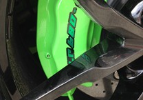 Green Satin Chrome Decal for Lamborghini Calipers
