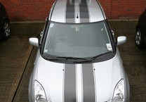Gunmetal Grey Twin Stripes with Pinstriping for Suzuki Swift