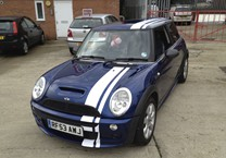 Off Set Twin Stripe for Mini