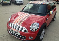 Printed Paul Smith Stripes for Mini Clubman
