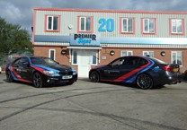 Printed Striping to 3 & 4 Series BMWs