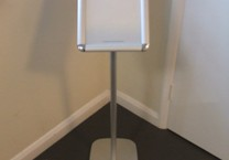 A3 Size Free Standing Holder