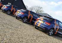 Cut Vinyl Applied to Henley's Audi A1's