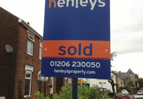 Estate Agent Sold Sign