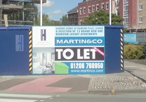 Printed Panels for Hoarding