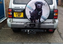 Printed Vinyl for Hard Wheel Cover
