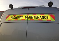 Reflective Chevron & Highway Maintenance Magnetics