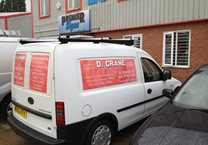 Side & Rear Printed Van Magnetics