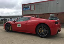 Taxi Magnetics for Ferrari 458
