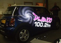 Cut Reflective Vinyls for Dream 100FM