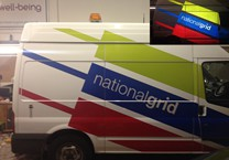 Reflective Vinyls for National Grid (Day & Night)