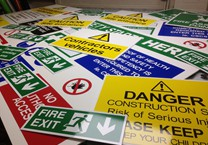 A Variety of Safety Signs