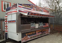 Printed American Vinyls for Food Trailer