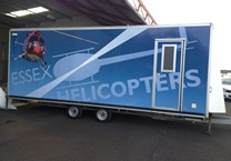 Printed Trailer Vinyl Wrap