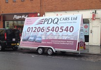Printed Vinyl for Advertising Trailer