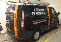 Company Livery to Sides & Rear of Van