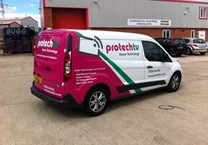 Part Wrap to Ford Connect Van