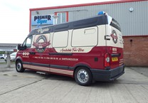3 Colour Wrap with Company Livery to Renault Master