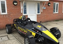 Ariel Atom Wrapped in Printed Vinyl for Rockstar Energy Drink