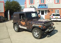 Printed Wrap for Jeep