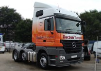 Printed Cab Wrap on Mercedes Actros