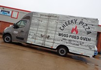 Colour Change Gloss Cab Wrap with Printed Matte Wrap to Pizza Luton Van