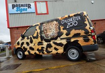 Big Cat Printed Wrap to Hiace