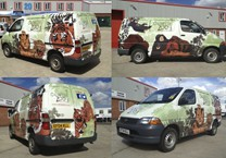 Colchester Zoo Wrap to Hiace Van