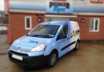 Full Printed Wrap for Envirovent Berlingo Van