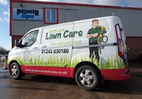 Full Printed Wrap to Colour Coded Van