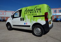 Printed Part Wrap to Van