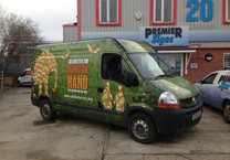 Printed Vinyl Wrap to Colchester Zoo Van
