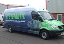 Printed Wrap to Logistics Company Sprinter