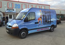 Printed Wrap to Renault Master