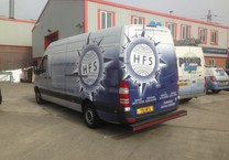 Printed Wrap to Transport Company Sprinter