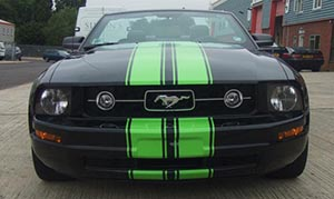 green-viper-stripes-for-mustang